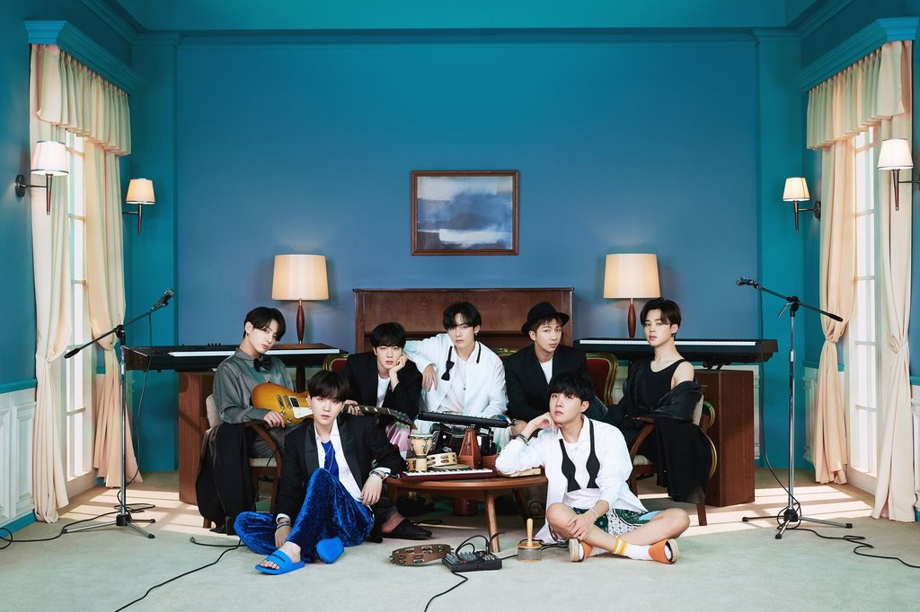 This photo, provided by Big Hit Entertainment, shows K-pop septet BTS. (PHOTO NOT FOR SALE) (Yonhap)