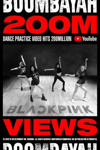 BLACKPINK's dance practice video tops 200 mln views
