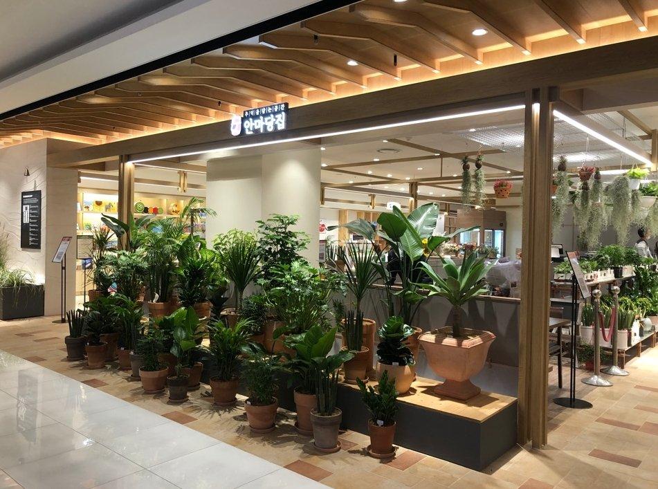 롯데백화점 중동점 체험형 문화 공간 '안마당집'