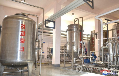New beer factory in N. Korea
