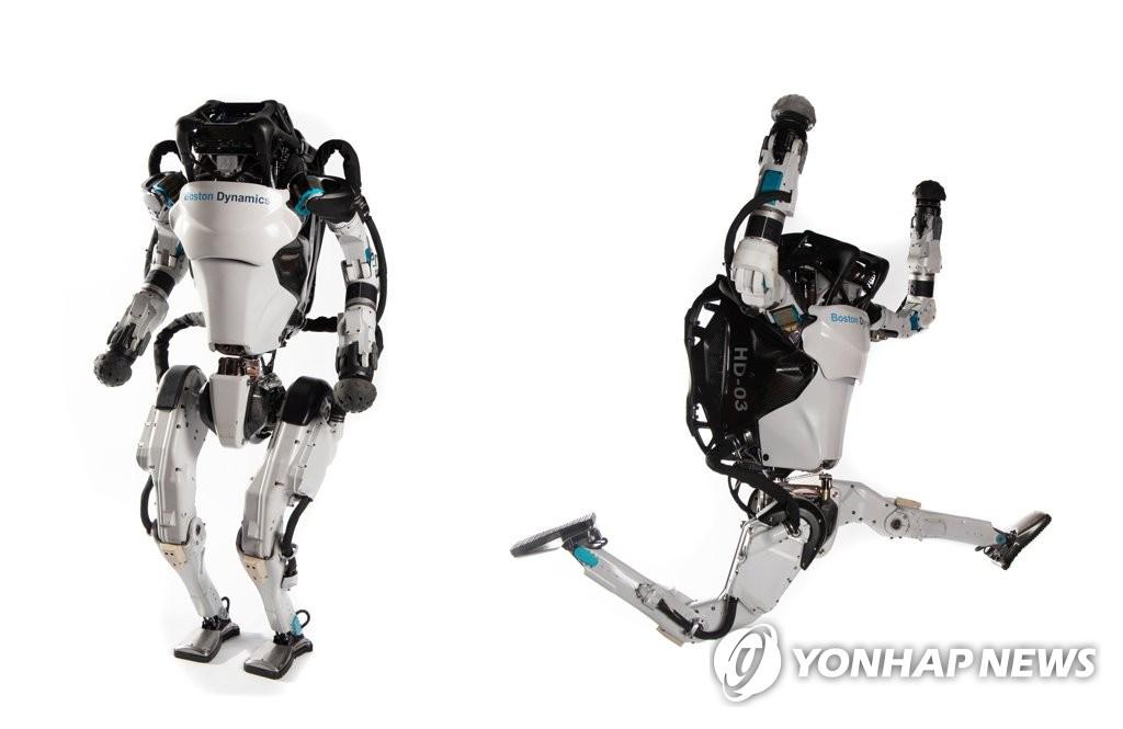 보스턴 다이내믹스의 2족 보행 로봇 아틀라스.
