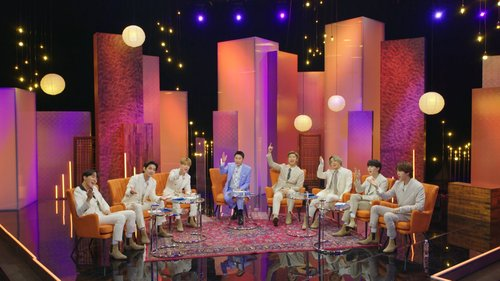 BTS on talk show