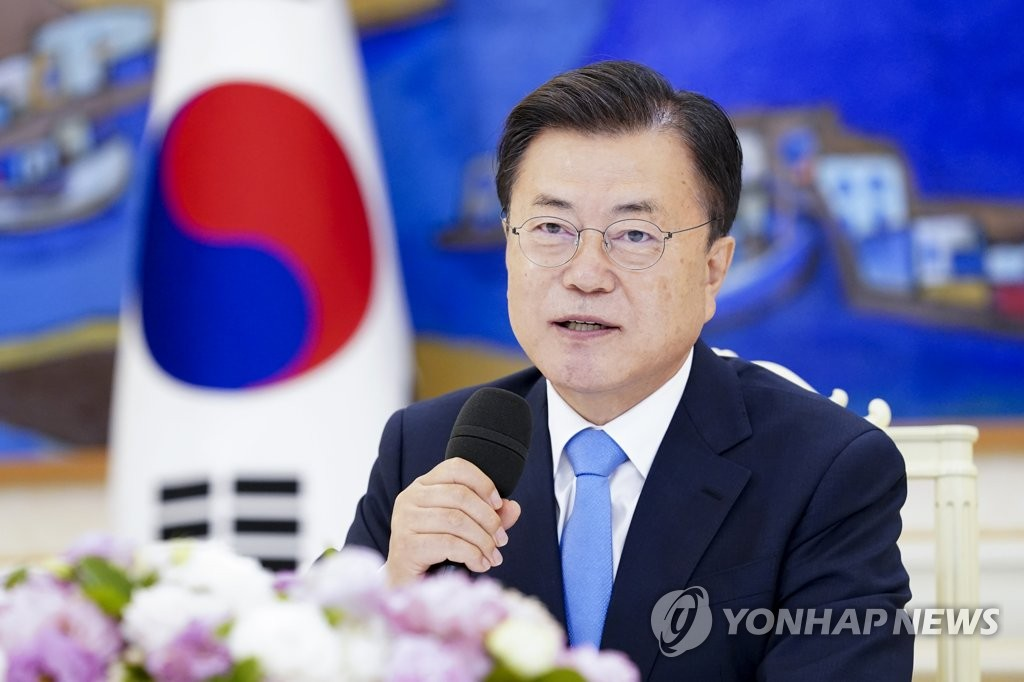 A file photo of President Moon Jae-in (Yonhap)